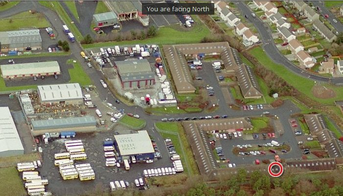Birds Eye View of Nasmyth Court, Houston Industrial Estate, Livingston